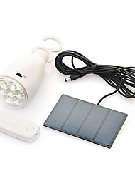8-LED Remote control Solar Flood Lamp Lighting system