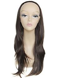half pruik blonde lange hoge kwaliteit grote golf vrouwelijke elegante mode synthetische celebrity pruik