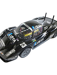 Car YX 4WD 1:10 RC Car Black Ready-To-GoRemote Control Car / Remote Controller/Transmitter / Battery Charger / Battery For Car / User