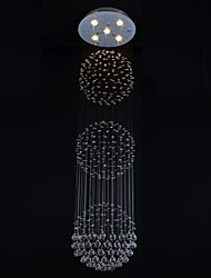 SL® 250W Clear light K9 Crystal Chandelier Lamp