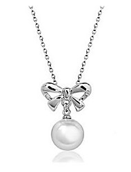 Корея Стиль жемчужное ожерелье Софи женщин
