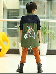 Boy's Colours Horse Trench Coats