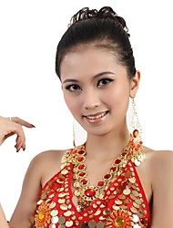 Belly Dance Women's Fashion Ruby Metal Necklace