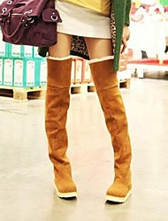 Women's Shoes Snow Boots Flat Heel Over The Knee Boots More Colors available