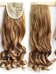 Synthetic Clip-in Hair Extension Long wavy Hair Pieces