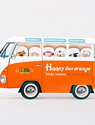 Стильный стикер в форме автобуса (случайный цвет)