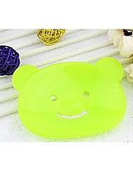 The Bear Shape Soap Box(Random Color)