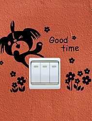Wall Stickers Wall Decals, Switch Bear PVC Wall Stickers