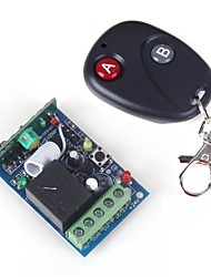 ZnDiy-BRY RF DC12V 1-CH Learning Code Remote Control Switch w/ Controller