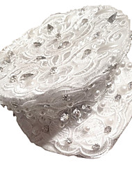 Women's Lace/Rhinestone Headpiece - Special Occasion Hats