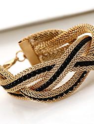 Венди женская мода вязание жемчужина браслет