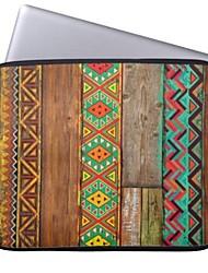 "Elonbo Bohemian Wood Stripe Tablet Neoprene Protective Sleeve Case for 11"" Macbook Air Dell Acer HP"
