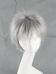 APH Hetalia Movie Gilbert Beillschmidt Silver Grey Short Cosplay Wig