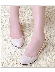 Women's Shoes Pointed Toe Wedge Heel Flats with Beading Shoes More Colors avaliable