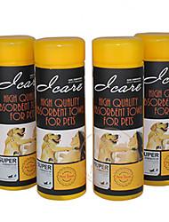 iCare profissionais absorventes toalhas camurça pet para animais de estimação cães de grande porte