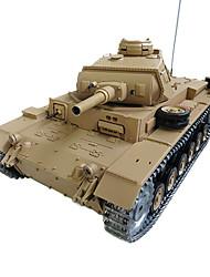 panzer rc tauch Panzer III Ausf. h tanque de batalla 1:16 rc