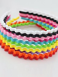 Fashion Wave Candy Color Hair Hoop Hair Accessories