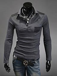 Alle Spiel Langarm-Polo-Shirt für Männer meikepam