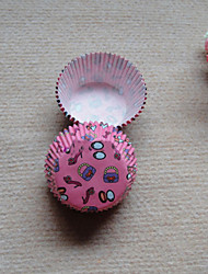 Fashion Party Cupcake Wrappers-Set of 50