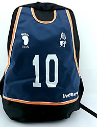 le basket-ball qui joue Kuroko no.10 chemise sac cosplay sac à dos