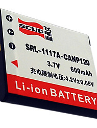 SCUD CNP120 Camera Battery for Casio EX-S200 ZS10 ZS15 TZ20 CNP120