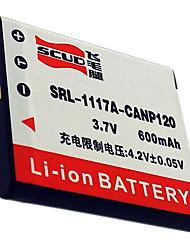 batteria scud cnp120 fotocamera per CASIO EX-ZS10 ZS15 s200 TZ20 cnp120