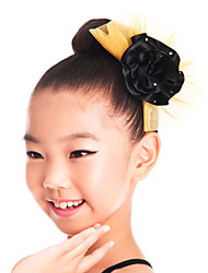 Performance/Dancewear Spandex Flower Headpeice(More Colors)