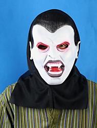 Black Vampire Latex Halloween Mask