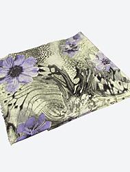 RGLT Floral Print Scarf (Gray)