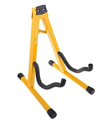 Yellow Folding Guitar Stand SD-03