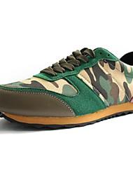 Chaussures homme ( Vert/Gris ) - Similicuir - Marche