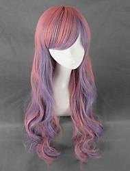 Harajuku Style Multicolor  Long Curly Lolita Wig