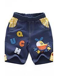 zomer jongens 'nieuwe 100% katoen dunne stereo borduurwerk cartoon korte broek