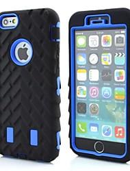 Para iPhone X iPhone 8 iPhone 8 Plus iPhone 6 iPhone 6 Plus Case Tampa Antichoque Capa Traseira Capinha Armadura Macia Silicone para