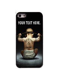 Personalized Case Boy Design Metal Case for iPhone 5/5S