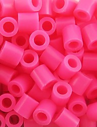 Approx 500PCS/Bag 5MM Rose Perler Beads Fuse Beads Hama Beads DIY Jigsaw EVA Material Safty for Kids