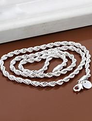 Vilin Women's Silver  Necklace