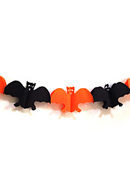 Bat de Halloween Paper Garland