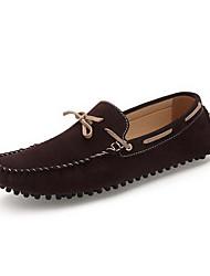 Chaussures Hommes Bureau & Travail / Décontracté Marron / Vert / Marine Cuir Chaussures Bateau
