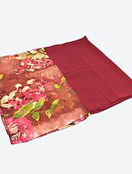 pañuelos de gasa Rglt (rojo oscuro)