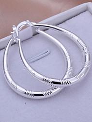 r&d piccolo cerchio orecchini argentati