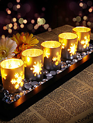 European Style Romantic Star Shape Candle Sets