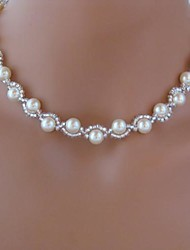 Women's European Fashion  Imitation Pearls  Necklace (1 Pc)