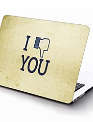 I Down You Design Full-Body Protective Plastic Case for 11-inch/13-inch New MacBook Air
