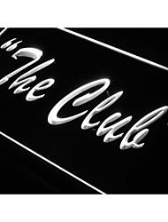 j993 el signo luz de neón del club