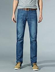 Männer lange gerade kultivieren Jeans Hosen