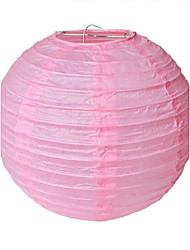 10 Inch Chinese Round Paper Lantern (More Colors)