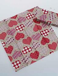 servilletas amor colorido (juego de 5 paquetes)