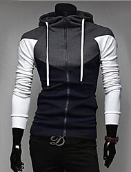 casuale sport di modo hoodie spessa felpa uomo