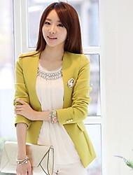 xxz slim-encaixe simples casaco feminino